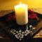 Fekete kínálótál (vagy gyertyatartó tál?)
