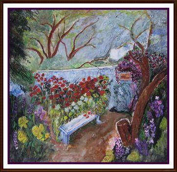 pihenő kert