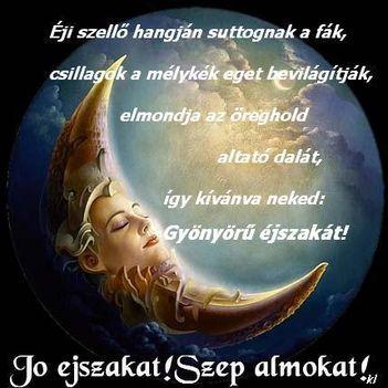 Jó éjszakát,szép álmokat