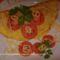 Tojásos omlett sonkás-gombás raguval 1