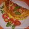 Tojásos omlett sonkás-gombás raguval 2