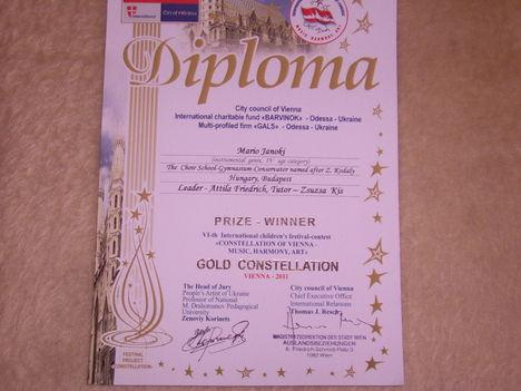 Bécs arany diploma 015