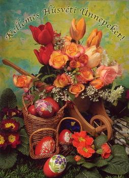 Boldog húsvéti ünnepeket kívánok!