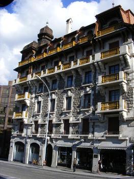 Hagyományos genfi épület