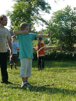 Baranta birkózás íjászat kardozás és életforma oktatása 10