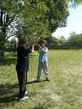 Baranta birkózás íjászat kardozás és életforma oktatása 1