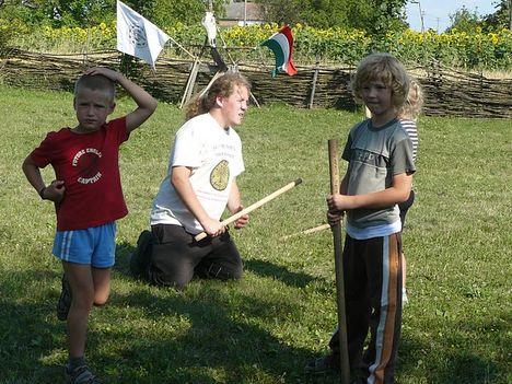 Baranta birkózás íjászat kardozás és életforma oktatása 4