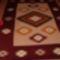 keretes szőnyeg késnyelves mintával