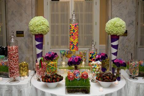 Candy bár, vagy cukorka bár esküvőkre 19