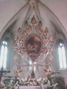 Jézus családfája az apostolokkal Gyöngyöspatán 2