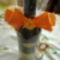 quilling virággal díszített bor