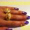 Sárga gyűrűkkel