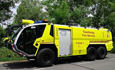 FOAM 7 új tűzoltókocsi