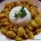 Currys-körtés pulyka
