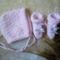 079- Sapka, kiscipő - rózsaszín
