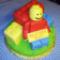 Lego-emberke torta