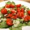 Spenót-paradicsom saláta
