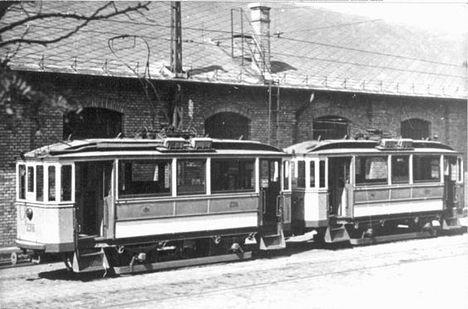 A BSzKRt által ikresített BVVV eredetű kis motorkocsik
