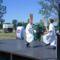 Barbacsi néptáncosok a falunapon 2006