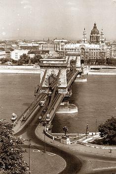 Budapest anno -Lánchíd