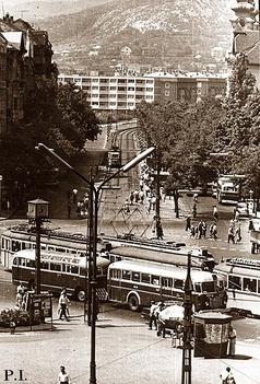 Budapest anno -Móricz Zsigmond körtér