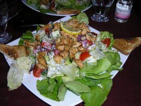 Cézár saláta5