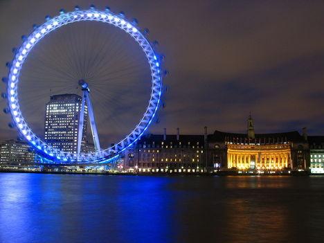 Éjjeli London Eye