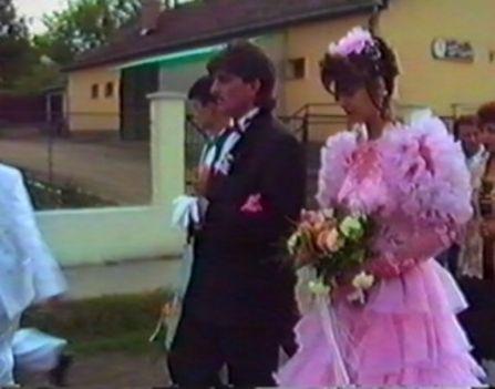 esküvő régi