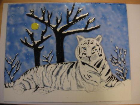 Hó tigris