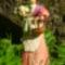 virágárús lány
