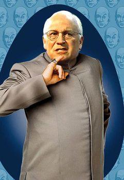 Dick Cheney mint Dr Evil