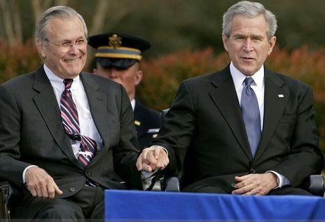 Rummy és Bush egysége 2009-ben