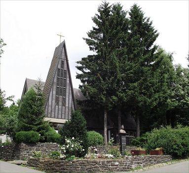 Mátraszentimre római katolikus templom