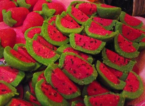 Sütés nélkűl-Dinnye és szamóca