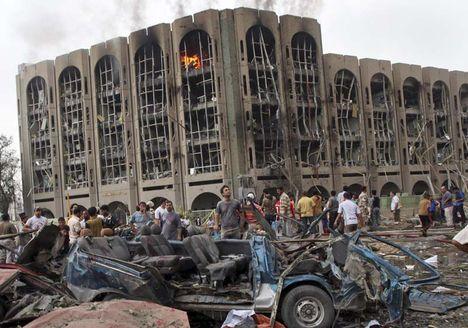Az Igazságügy Minisztérium lebombázása Irakban
