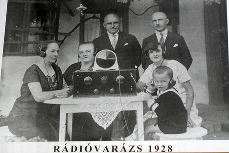 Gyula város rádió múzeumában