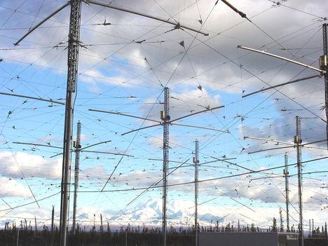 HAARP antennaerdő Alaszkában