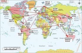 HAARP háló a világban