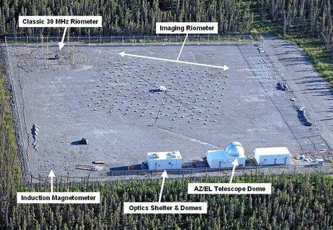 HAARP telep Alaszkában