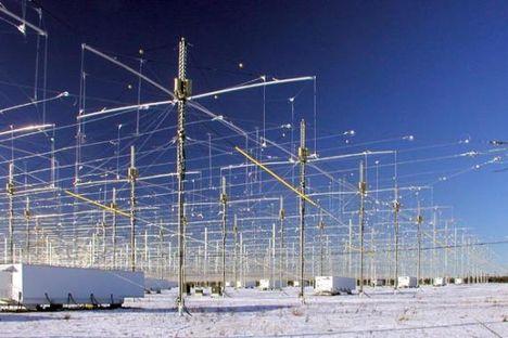 Magas frekvenciás adóállomások Alaszkában a Föld ionoszférájának módosítására