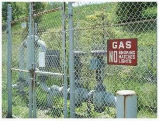 Metán gáz termelő állomás San Antonio