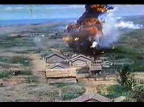 Napalm bombázás