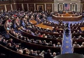 USA kongresszus zavarban