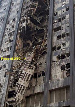 WTC leszakadó részek