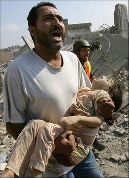 Az amerikai fegyverekkel történő 2007-es Izraeli Gáza lerohanás áldozatai