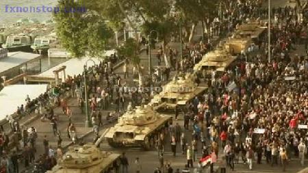 folyamatos katonai segítség Egyiptom kormányának
