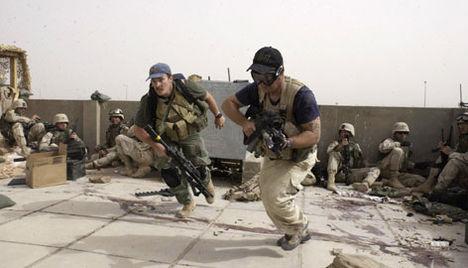 Iraki támadás és rombolás