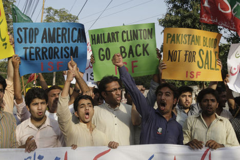 Pakisztán nem kéri az USA katonai segítségét