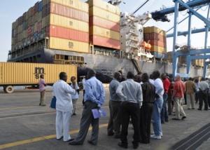 USA Africa Command - Port of Mombasa, Kenya
