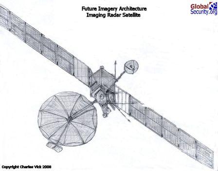 USA tervezett radar műholdja